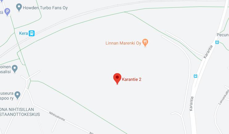 Mehupuristamo Omamehun sijainti - Linkki Google karttoihin